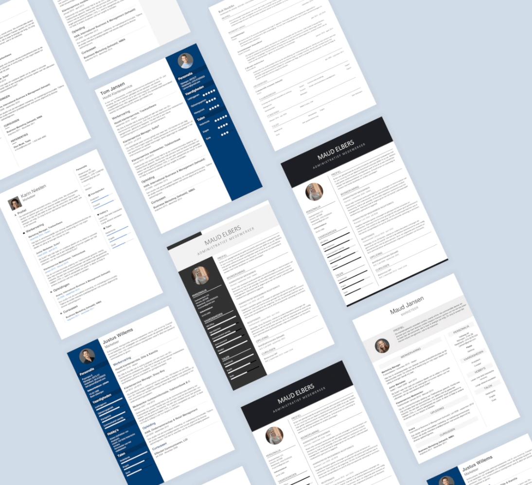 templates-voorbeelden
