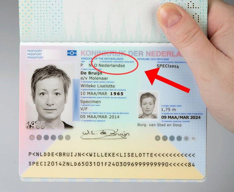 nationaliteit-op-paspoort